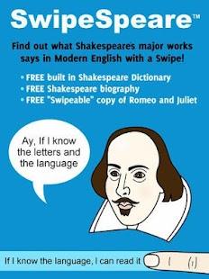 SwipeSpeare-Modern Shakespeare