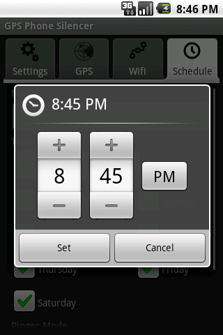 GPS/Wifi Silencer Lite - screenshot