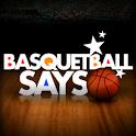 Basketball Says Pro logo