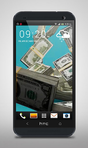Money Package Live Wallpaper