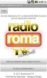 Radioroma tv- screenshot thumbnail