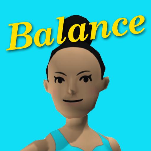 健康のFit for Rhythm Groove! Balance LOGO-記事Game