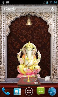 Shri Ganesha 3D Temple LWP - screenshot thumbnail