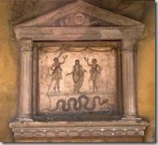 Altar doméstico para culto particular