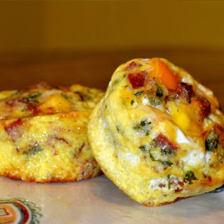 Hunger Buster Low Carb Bacon Frittata.
