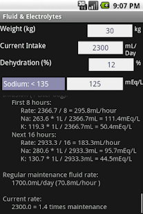 Fluid & Electrolytes - screenshot thumbnail