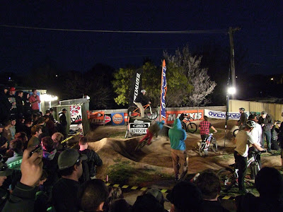 Pump track in action