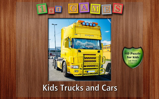 1st Games Kids Trucks and Cars