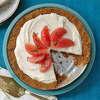 No-Bake Grapefruit Cheesecake.