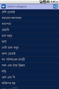 Bengali Grocery Shopping List – Grocery shopping list for Bengali