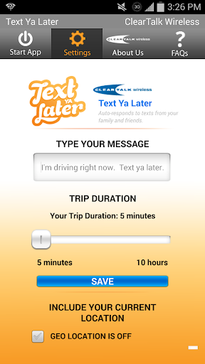 Text Ya Later - ClearTalk