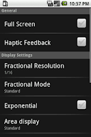 Screenshot of HeavyCalc Pro Calculator