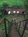 Fort Anioła - pozostałości radzieckiej radiostacji