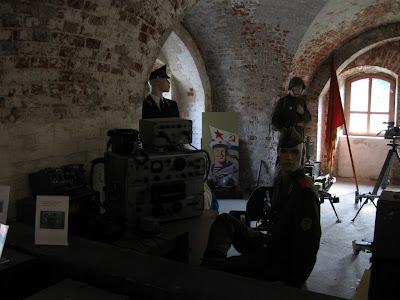 Fort Zachodni - ekspozycja w muzeum