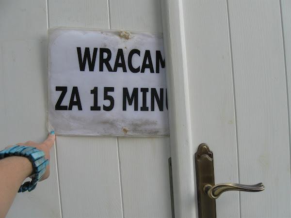 zaraz wracam po tatarsku