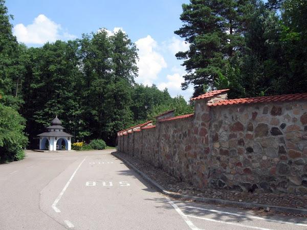 Góra Grabarka - parkingu