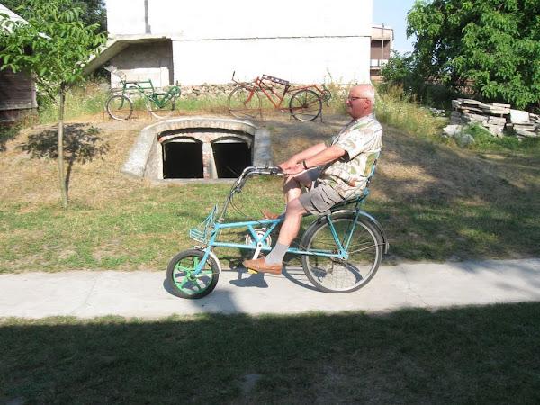 muzeum rowerów - rower poziomy