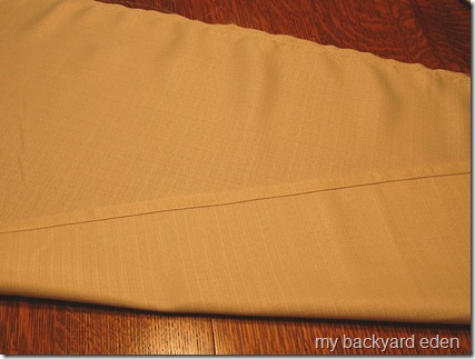 Easy DIY tailored bedskirt tutorial