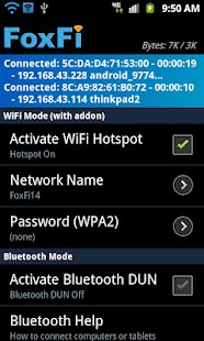 FoxFi AddOn- screenshot thumbnail