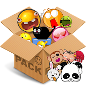 Emoticons pack, Cute Animals