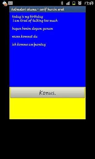 KelimeOkuma Text to Speech