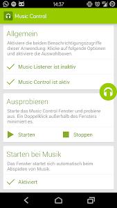 Music Control 1.1