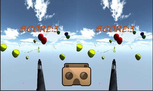Virtual Reality Balloon Shoot- screenshot thumbnail