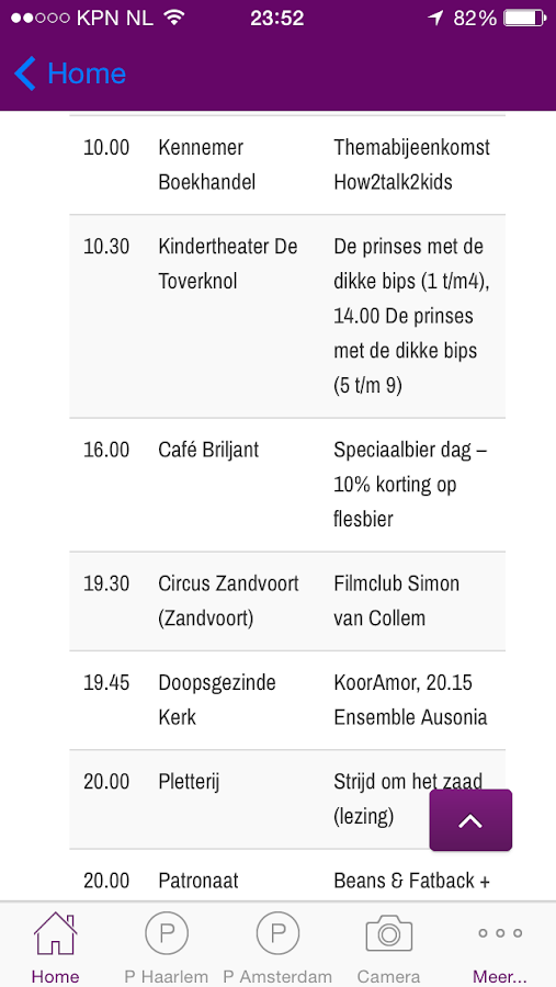 UITkrant Haarlem - screenshot