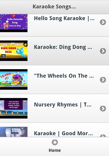 Karaoke Songs for Kids