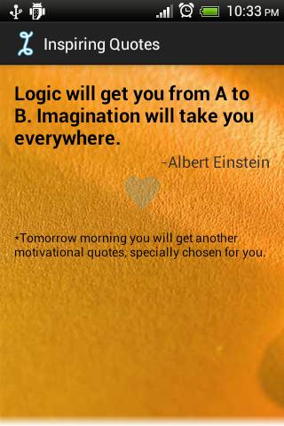 Daily Inspiring Quotes Free - screenshot