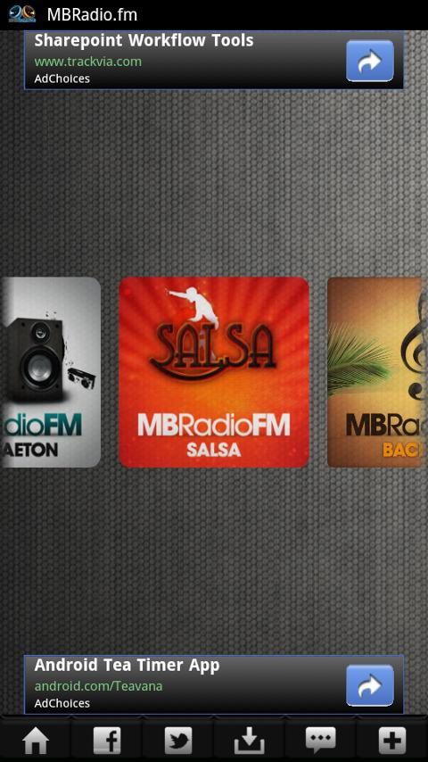 MBRadio.FM - screenshot