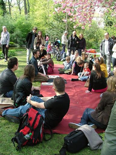 Szakura-ünnep, 2010, beszélgetés és előadás