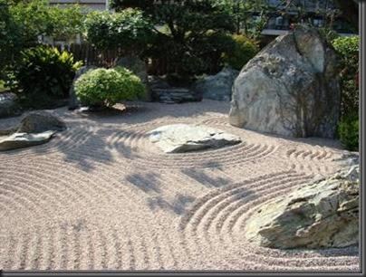 1000 deco jardin zen sable. Black Bedroom Furniture Sets. Home Design Ideas