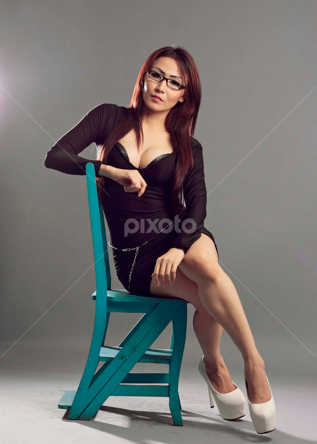 Sexy Teacher by Indra Wahyudi - People Portraits of Women