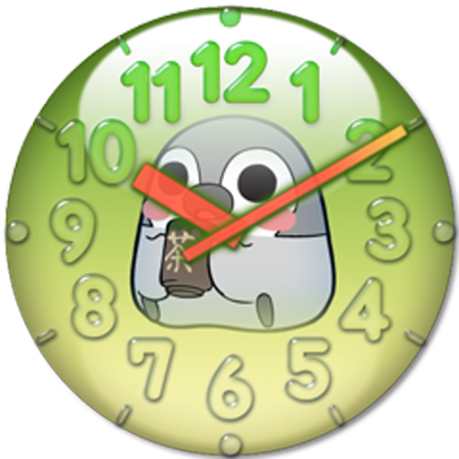 Pesoguin Analog Clock Full Ver