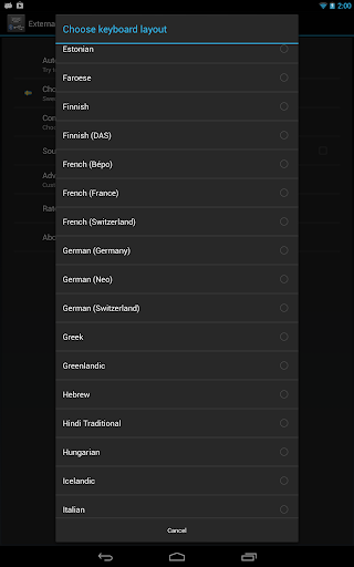 External Keyboard Helper Demo 7.4 screenshots 10