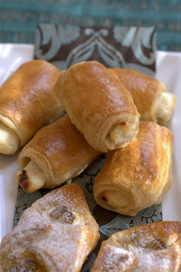 Pastelitos de queso ricotta