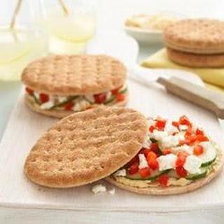 Grecian-Style Sandwiches.