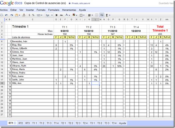 EDUCATIVA: Algunas plantillas de Google docs para usar en clase
