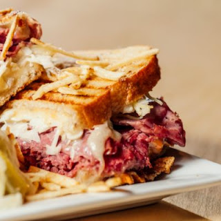 Corned Beef and Cabbage Sandwiches