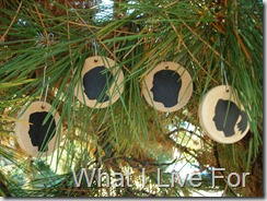 Silhouette Ornaments