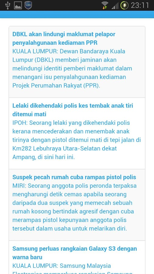 Berita dari HMetro - Android Apps on Google Play506