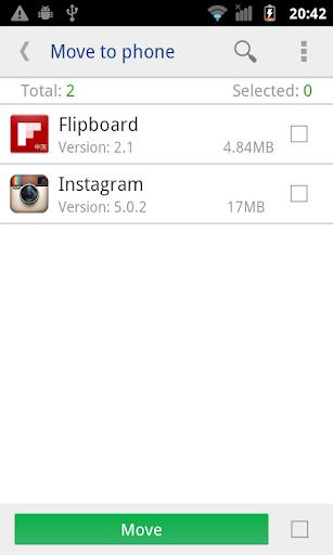 Move app to SD card 3.9 screenshots 4