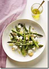 Roasted Asparagus Goat Cheese