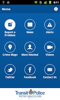 Screenshot of Metro Vancouver Transit Police