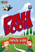 Screenshot of Aprenda Inglês PAH-BOOM Kids.