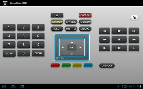 Toshiba A/V Remote - screenshot thumbnail