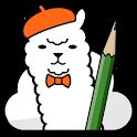 MangaName/ Draw draft of comic icon