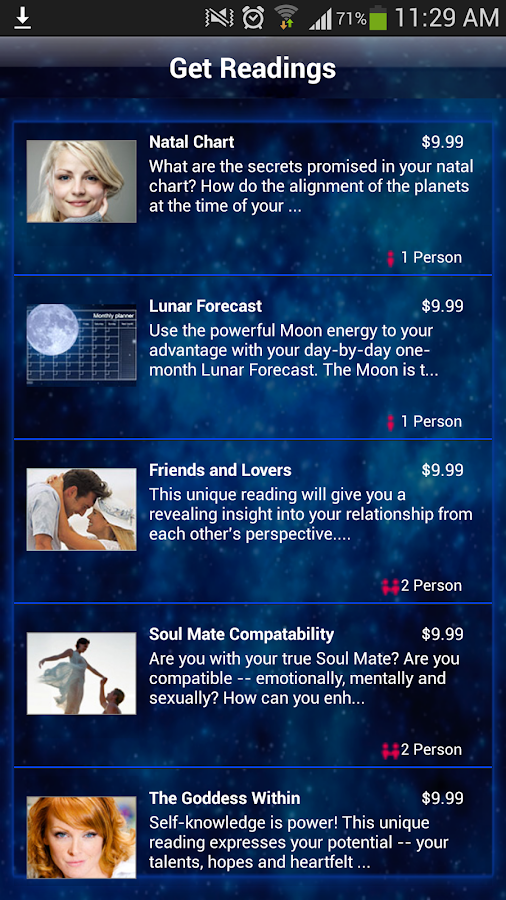 Horoscopes by Astrology.com - screenshot