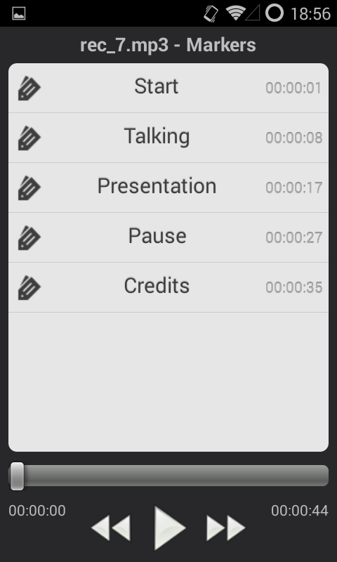 Events Recorder-Free - screenshot